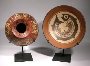 Nazca Vessel Custom Display