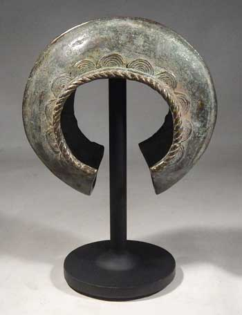 Antique Bronze And Wood Snatch Block Exquisite Craftsmanship; Antiques