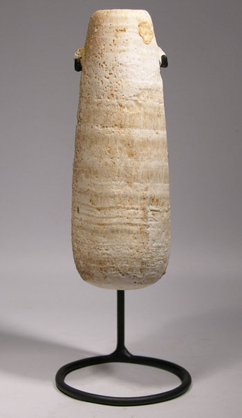 Egyptian Alabaster Vessel Custom Display
