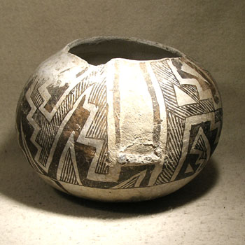 Anasazi Pitcher - Before