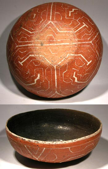 Shipibo Painted Bowl