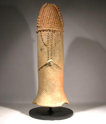 Bura Phallic Vessel Custom Display Stand