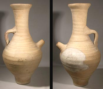 Byzantine Pottery Wine Vessel