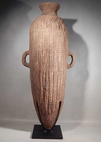 Chinese Neolithic Terracotta Pottery Amphora Vessel