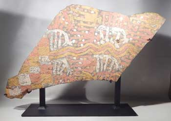 Inca Period Huari Tiahuanaco Chuca Pictographic Stone Custom Display (front).