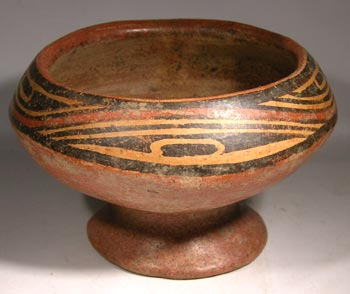 Cocle Footed Bowl
