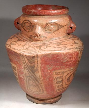 Cocle Figural Vessel