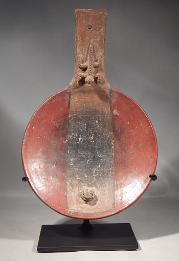 Pre-Columbian Costa Rican Censer Incensario