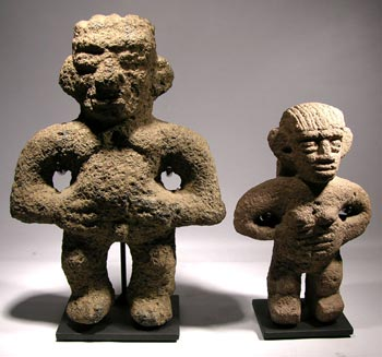 Costa Rican Stone Figure Custom Displays