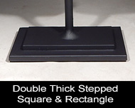 Double Stepped Square Base