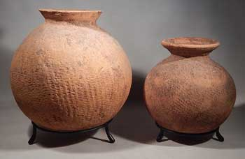 Ancient Egyptian Neolithic Pre-dynastic Pottery Vessels