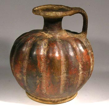 Large Etruscan Pottery Vessel