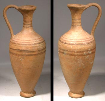 Greek Lekythos Vessel