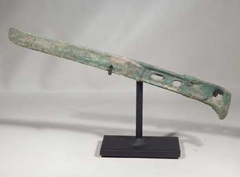 Ancient Chinese Han Dynasty Bronze Knife