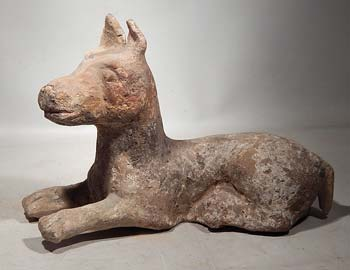 Han Dynasty Terracotta Dog