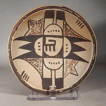 Hopi Lightning and Clouds Bowl
