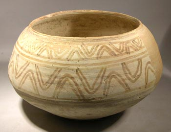 Indus Valley Nal Painted Pottery Bowl