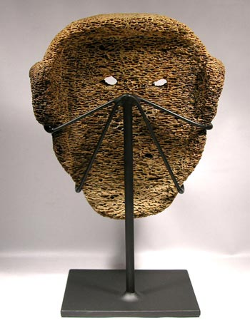 Inuit Bone Mask Custom Display