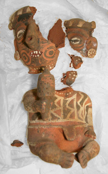 Nayarit Figure - Before