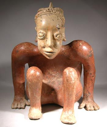 Jalisco, Ameca Crouching Figure - After