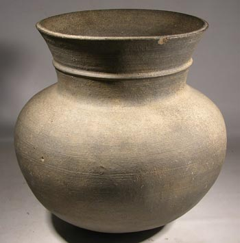 Judean Hellenistic Blackware Pottery Vessel