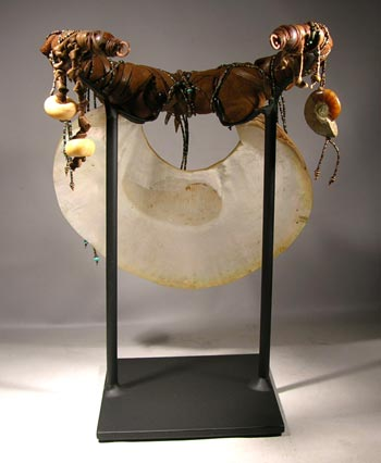 Kina Shell Necklace Custom Display Stand - Back