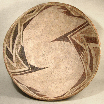 Mimbres Maya Bowl - After