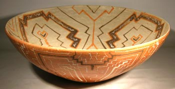 large Shipibo Pottery Bowl