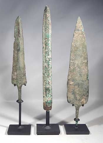 Luristan Bronze Spear Points and Javelin Point