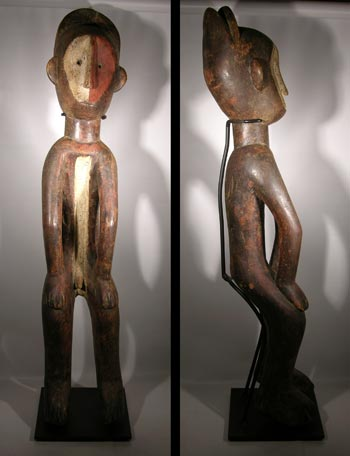 Mbole Hanged Male Figure - DRC
