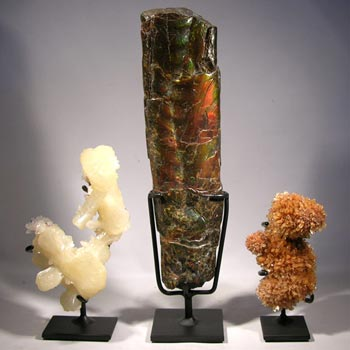 Mineral Specimen Custom Display Stands