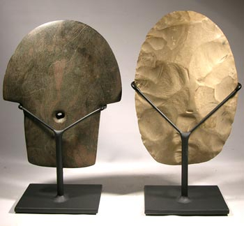Mississippian Stone Tools Display Stand