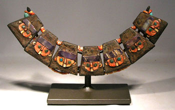 Moche Necklace Custom Display Stand
