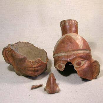Moche Vessel - Before