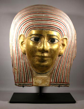 Egyptian Mummy Mask Custom Display