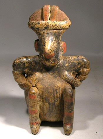 Nayarit Seated Figure - After