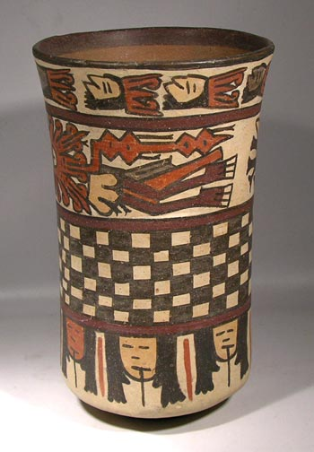 Nazca Cylinder (beaker) - After