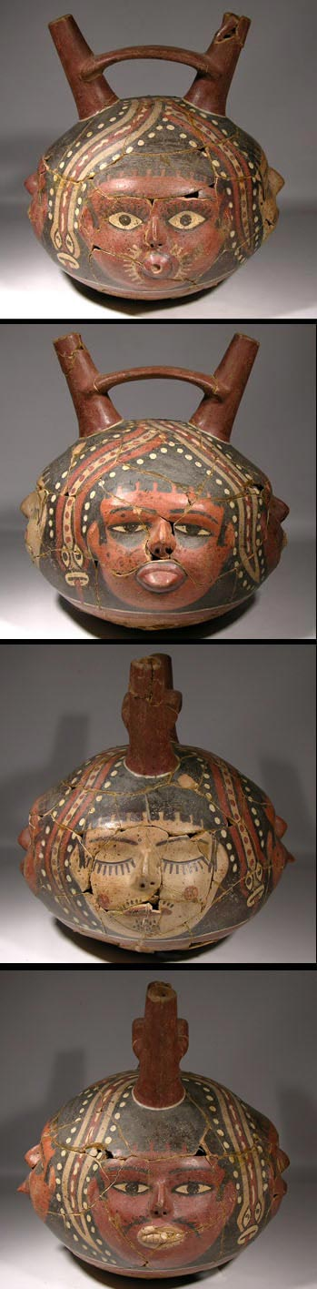 Nazca Stirrup Vessel - Before