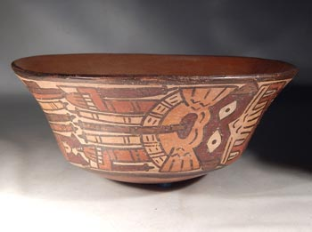 Nazca Polychrome AMB Pottery Bowl