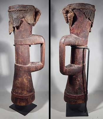 Papa New Guinea Ramu River Wooden Kundu Drum