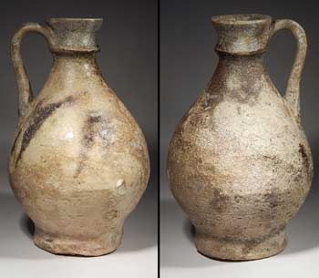 Persian Parthian Pottery Ceramic Pitcher Vessel
