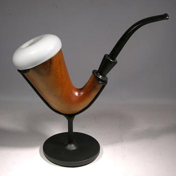 Calabash Pipe Custom Display Stand - back