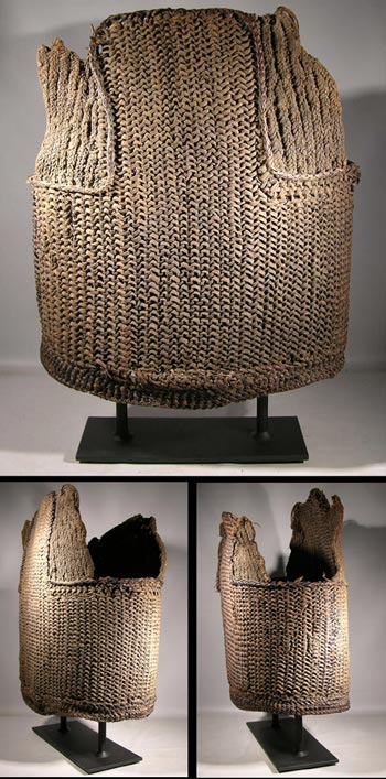 Papua New Guinea Woven BOdy Armor Cuirasses