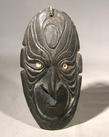 Papua New Guinea Wooden Carved Mask