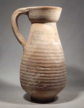 Ancient Roman Carthage North Africa Pottery Pitcher Oinochoe Vessel