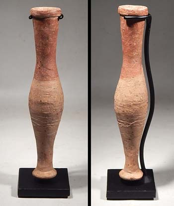 Roman Pottery Spindle Vase Bottle Vessel