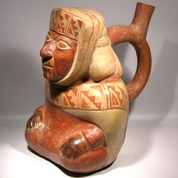 Moche Stirrup Vessel - After