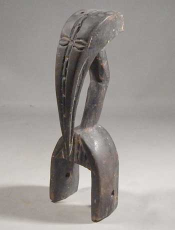 West African Senufo Heddle Pully Horn Bill