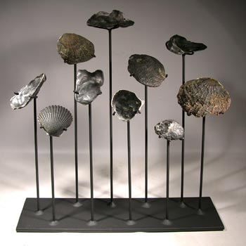 Sea Shells Custom Display Stand