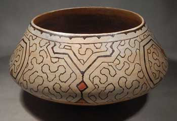 Shipibo Pottery Bowl #12